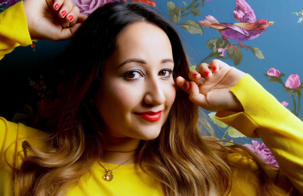 Bhavini Vyas - Vibrant Colour Headshot
